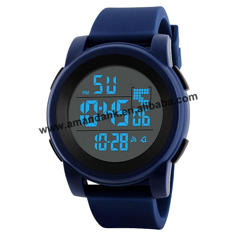 Relógio Digital de Homens de Negócios de