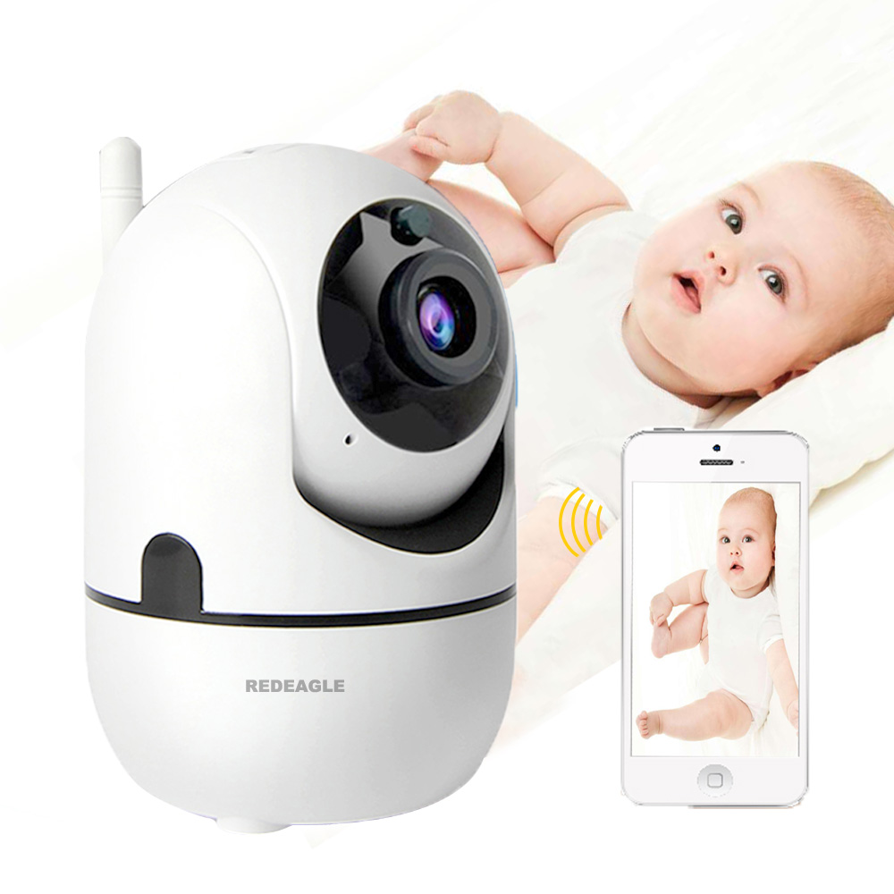 REDEAGLE Baby Monitor 2 way audio smart font b Wireless b font Wifi Security Camera Motion