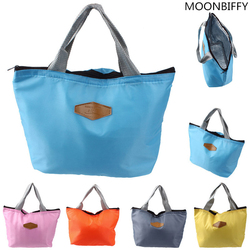 Lunch Bag 2017 New Fashion Kid Women Men Thermal Insulation Waterproof Portable Picnic Insulated Food Storage Box Tote Lunch Bag