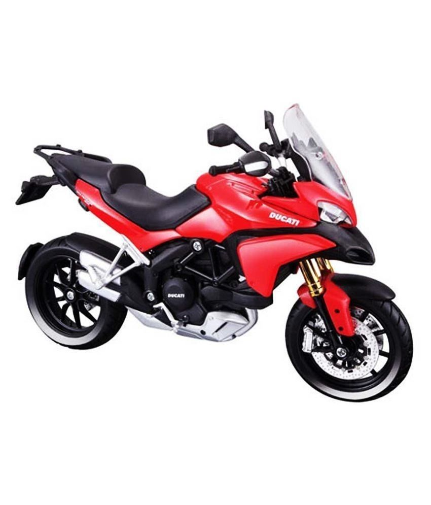 MAISTO 1:18 Ducati Multistrada 1200S MOTORCYCLE BIKE DIECAST MODEL TOY NEW IN BOX Free Shipping