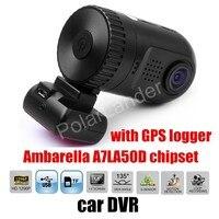 factory price sale Mini 0805 Dashboard Car DVR Camera Ambarella A7LA50D HD with GPS logger dash camera auto