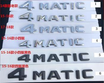 ABS Plastic 4MATIC Car Badge Emblem Nameplate Sticker Logo