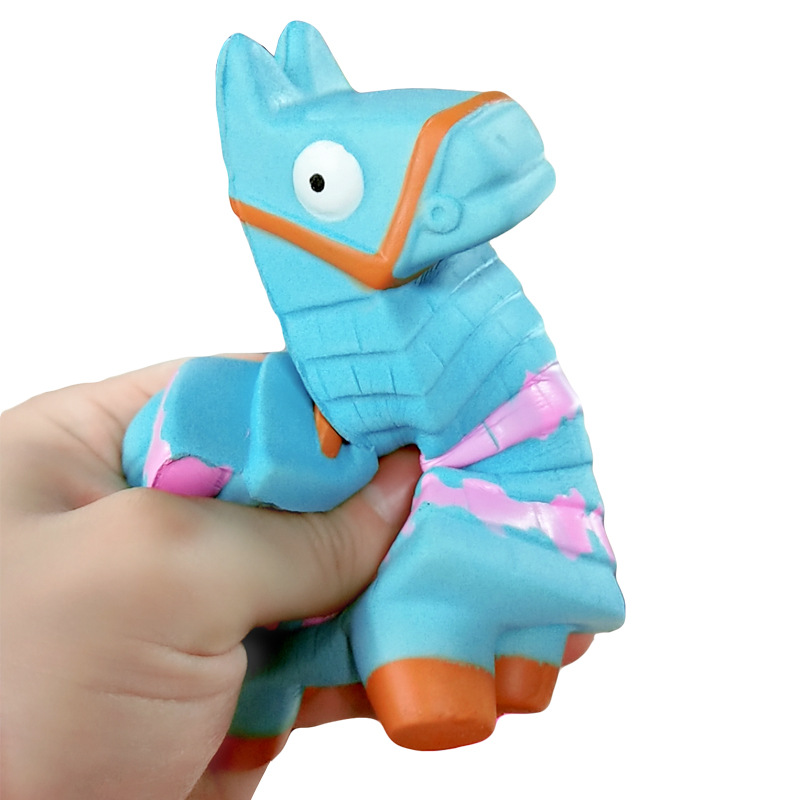 Stress Relief Toy Llama Squishy Slow Game Battle Royale Rising Squishies Toy Jumbo Squeeze Stress Relief Toys Kids Gift(China)