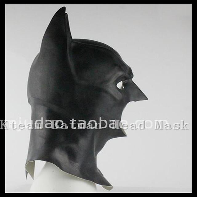Batman Mask Dark Knight Latex Full Silicone Mask Hood