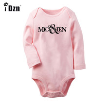 Fashion Band Rabbit Duck FIG illusion Design Newborn Baby Boys Girls Outfits Jumpsuit Infant Bodysuit Clothes 100%Cotton onesies(China)