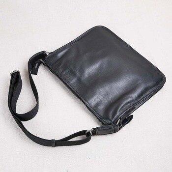 AETOO 2018 new leather men's bag ultra-thin shoulder Messenger bag European and American fashion leather 2017 new european and american fashion lady bag hand shoulder bag