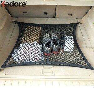 Dla Kia Sorento 2008-2012 Auto tylny bagażnik czarny bagaż paczka netto elastyczna sieć ładunkowa 4 hak Car Styling