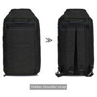 Men's Canvas Drawstring Backpack