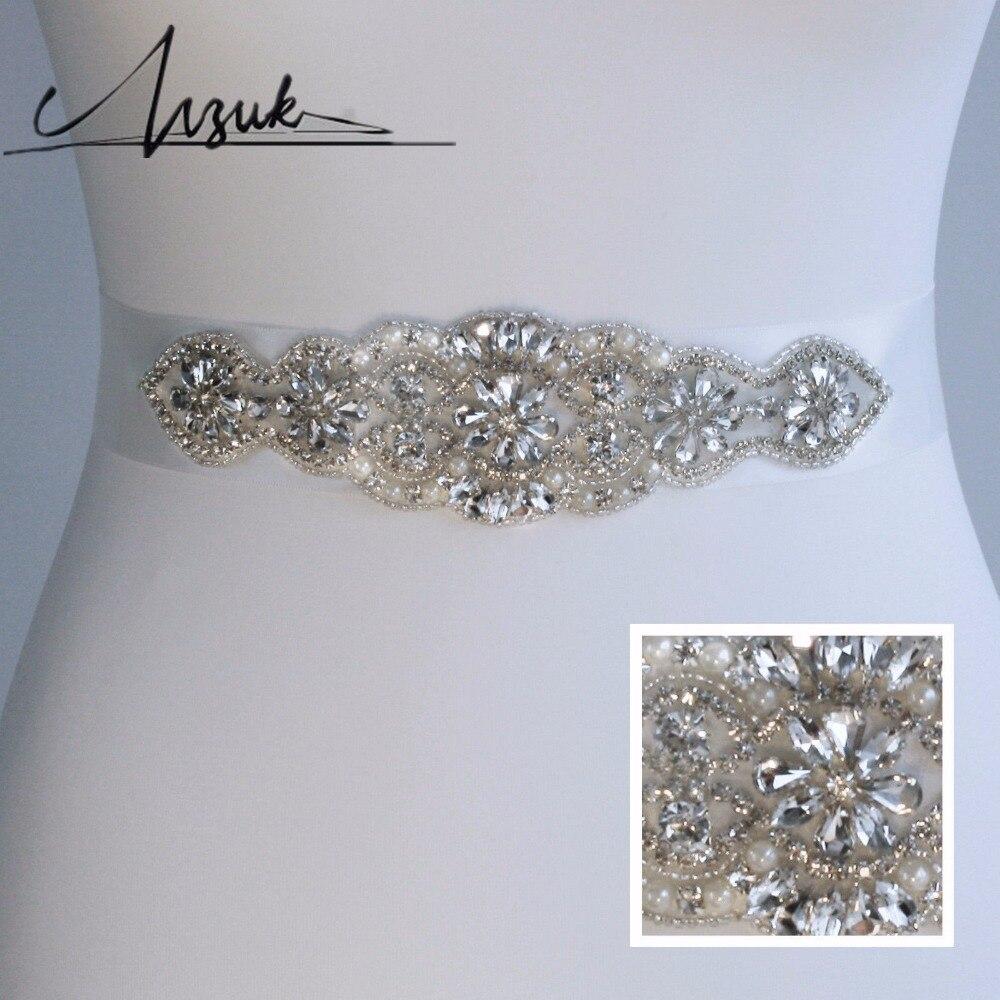 Wedding Gown Belts And Sashes: S94 Feminine Wedding Dress Belt And Sash Bridal Belt For