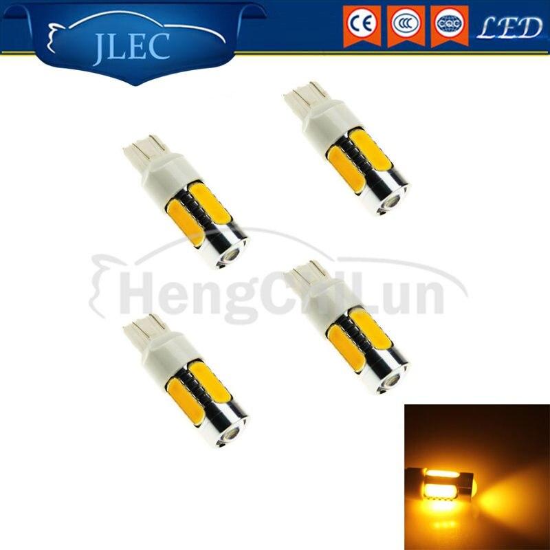 Car-Styling 7.2W Brark Light Super Bright LED Light Universial 2pcs High Power Stop Lamp Car Parking Beacon Lights warning Lamps