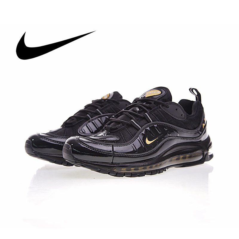 2e80286bc8 Original authentic NIKE Air Max 98 men's breathable running shoes outdoor  sports shoes sports designer breathable 640744-080