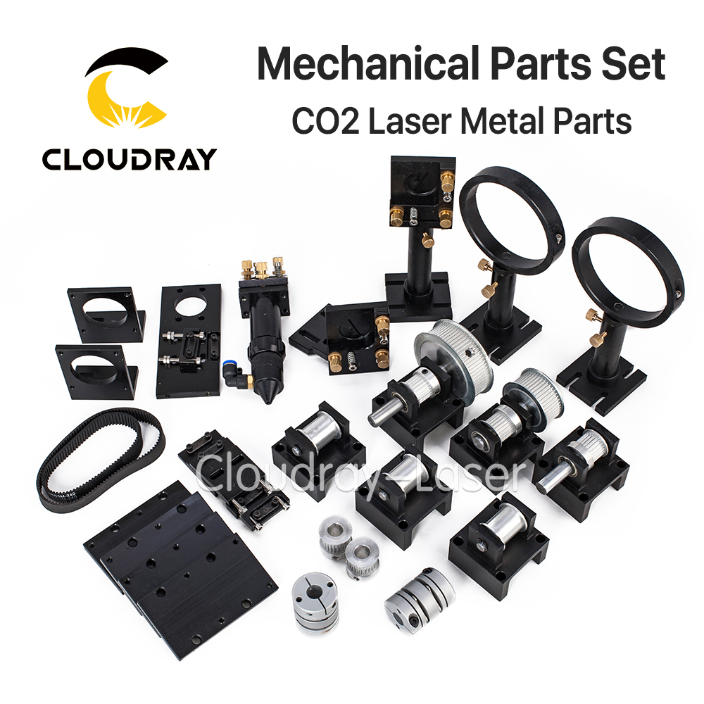 Cloudray CO2 Laser Metal Parts Transmission Laser head Mechanical Components for DIY CO2 Laser Engraving Cutting Machine new type co2 laser head