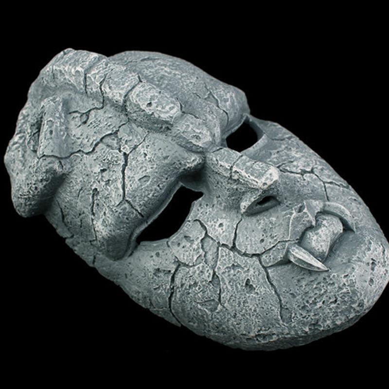 Image 3 - Stone Ghost Full Face Resin Mask Juvenile Comics JOJO Amazing  Adventures Gargoyle Theme Masks Halloween Masquerade Party  Propsmasquerade partyresin maskmask halloween