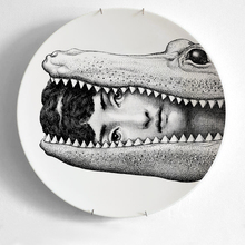 12 Inch Fornasetti Plates Home Decoration Christmas Dinner Plate Decorative Wall Dishes European Decor Wall Hanging