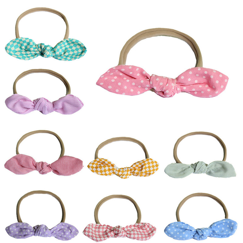 Lovely Baby Headband Newborn Baby Girl Headbands Elastic Kids Toddler Hair Band  Bowknot Haarband Baby Hair Accessories