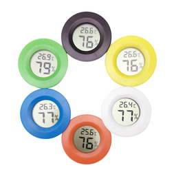1 шт. цифровой мини-термометр с ЖК-дисплеем, гигрометр, тестер морозильника датчик измерителя температуры и влажности