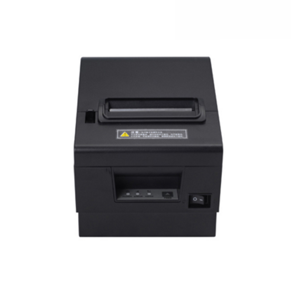 High quality 80mm thermal printer with cutter ESC/POS standard USB+LAN+RS232 interface p ...
