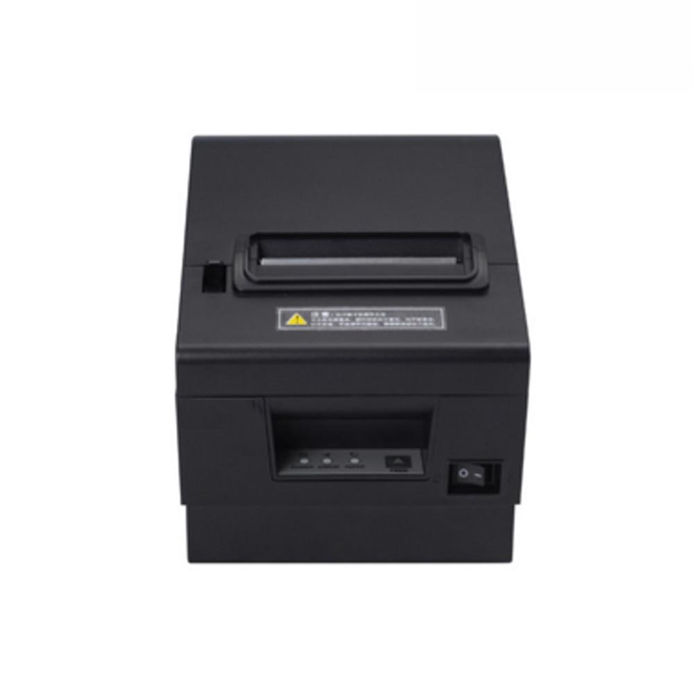 High quality 80mm thermal printer with cutter ESC/POS standard USB+LAN+RS232 interface pos printer