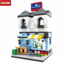 HSANHE Florist blocks ego legoe star wars duplo lepin toys playmobil castle starwars orbeez figure doll car brick super heroe