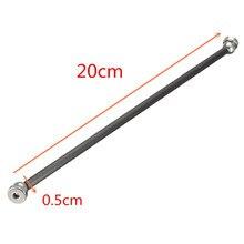 NUEVA Un Conjunto Varilla de empuje Diagonal L200 Barras Armas Kit + Rótula + Bola de Acero magnético para kossel 3D Piezas de La Impresora accesorios