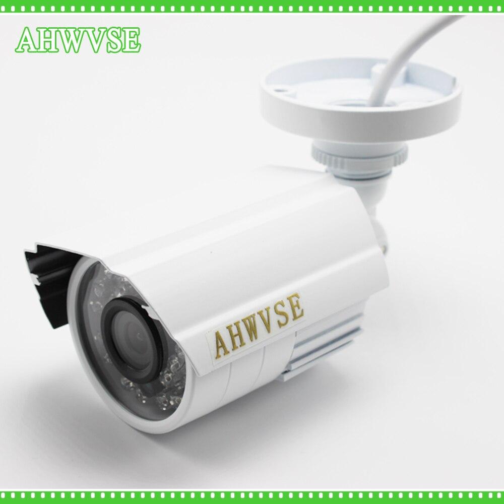 AHWVSE Waterproof Bullet Outdoor AHD Camera 960P 1.3MP 2500TVL Camera AHD 960P 24IR LED IR Cut 1080P Lens bullet camera tube camera headset holder with varied size in diameter