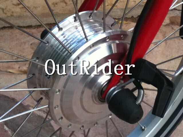 SUPER qualité! moteur Brushless sans hall haute vitesse 80 MM pour vélo pliant BROMPTON