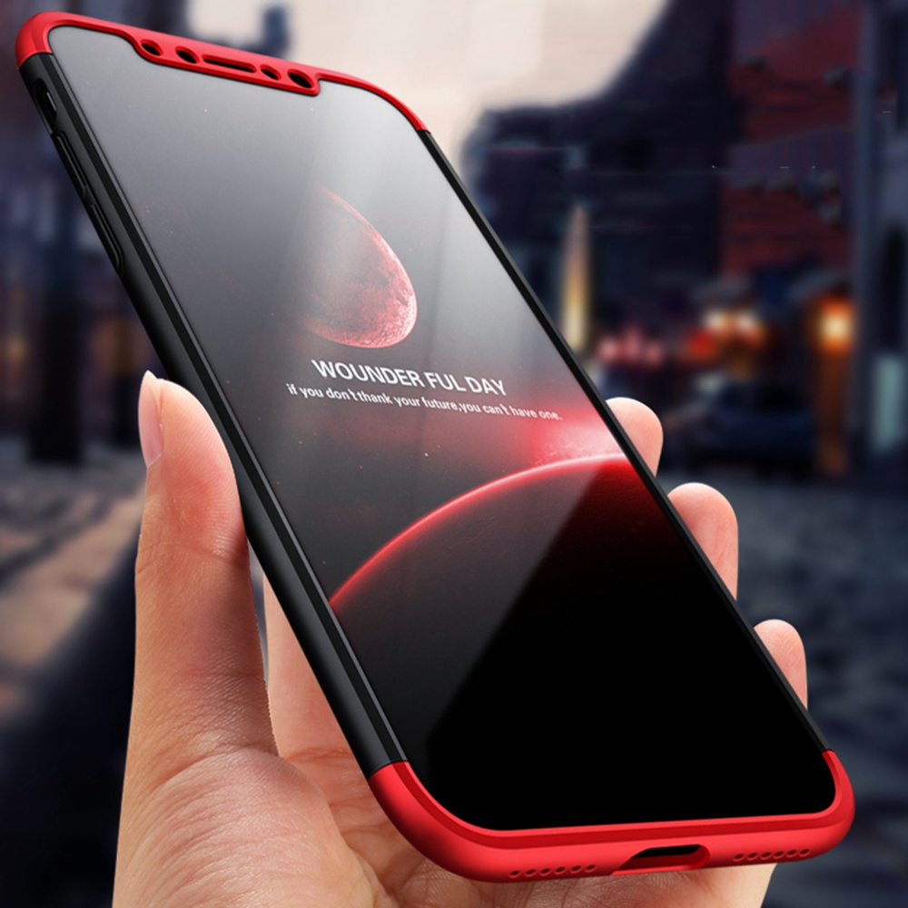 Fundas For iPhone X Case 360 Full Body Protection Cover Ultra Thin Matte Coque Hybrid Hard Plastic Phone Cases For iPhone 10 Ten