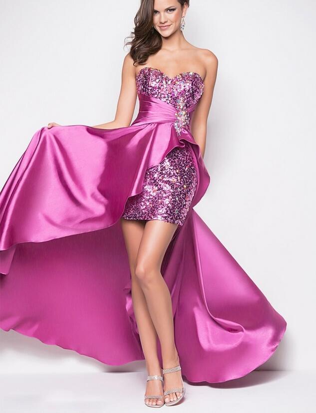 Violet Cocktail Dresses 55