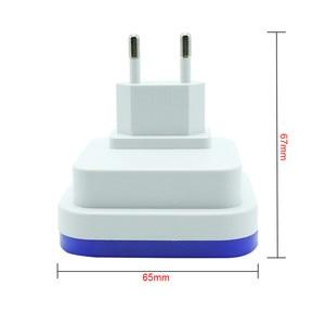 Image 5 - Thrisdar Licht Sensor LED Night Light Lamp Met EU/US plug Muur Socket Licht 0.5 w Bedroon Naast baby kwekerij Licht