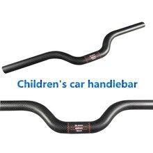 2017 Full Ultralight Sturdy Carbon Fiber Children's Car Handlebar 25.4 * 440/460/480/500/520/540/560/580/600/620mm Bicycle Parts