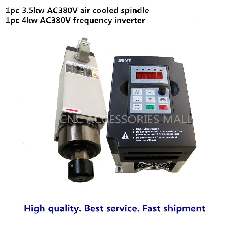 CNC Spindle Motor Spindle Air Cooled Spindle Motor 3.5KW ER25 4 - ماشین ابزار و لوازم جانبی