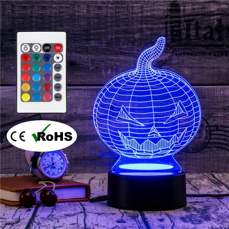 3D Led Novety Lighting Creative Gift Night Light  Table Lamp Bedside Lampe Light Led Home Corridor Hotel Party Atmosphere Lights