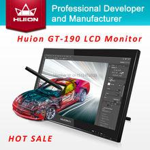 Huion GT-190 19-inch TFT LCD Monitor Touchscreen Monitors Interactive Pen display Deaktop Monitor Digital Tablet Monitor Black(China (Mainland))