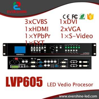 VDWALL LVP605 HD Большой светодиодный Экран видеостена процессор с VGA/DVI/HDMI Применение для аренды производительность и ТВ центр вещания