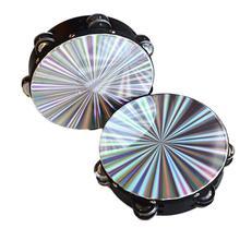 IRIN 8 дюймов деревянный Тамбурин ручной барабан Светоотражающая головка ударная ОРФ инструмент игрушка танцы пение аккомпанемент