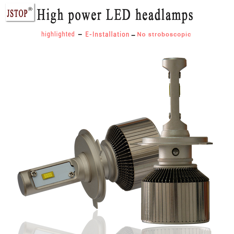 H4 H7 H11 9005 Car Led Headlights High Power Light Sourcing 9006 High Low beam White 5500K Auto Front Bulb Repalcement Headlamp