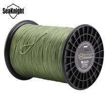 Seaknight marca 1000m super forte 8 fios tece pe trançado linha de pesca corda multifilament 120lb 150lb 200lb 250lb 300lb