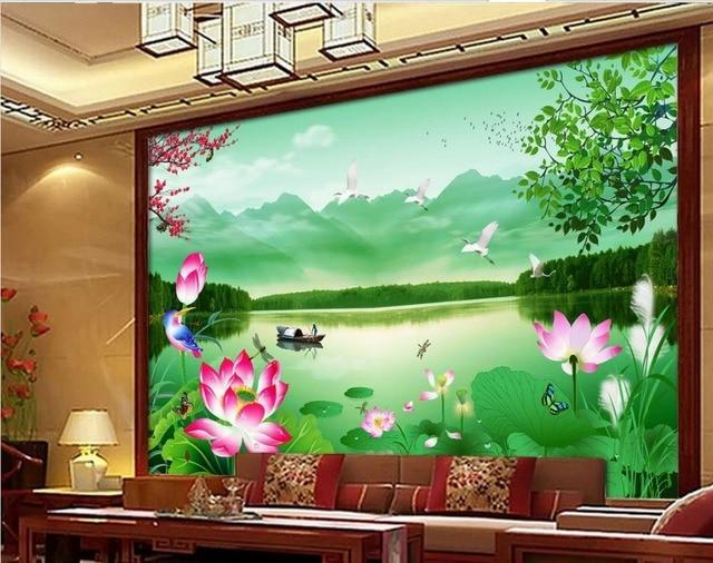 Papel pintado para paredes paisajes los papeles que ha - Papel pintado paisaje ...