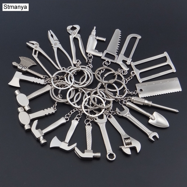 Все инструменты брелок-модные тиски Брелок Металлический регулируемый креативный инструмент кольцо брелок события брелок в виде тисков мини-подарок 17342