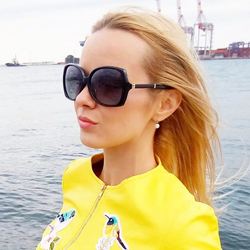 5fabe3db3842 COOLPANDAS New Luxury Brand Lady Polarized UV400 Sunglasses For Women  vintage Glass Female Original Famous Sun Glasses with logo-in Sunglasses  from Apparel ...