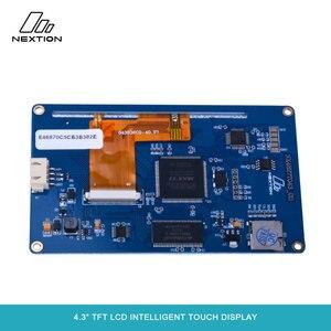 """Image 5 - Nextion NX4827T043 écran tactile Intelligent TFT LCD 4.3 """"meilleure Solution pour remplacer le Tube LCD et LED Nixie traditionnel"""