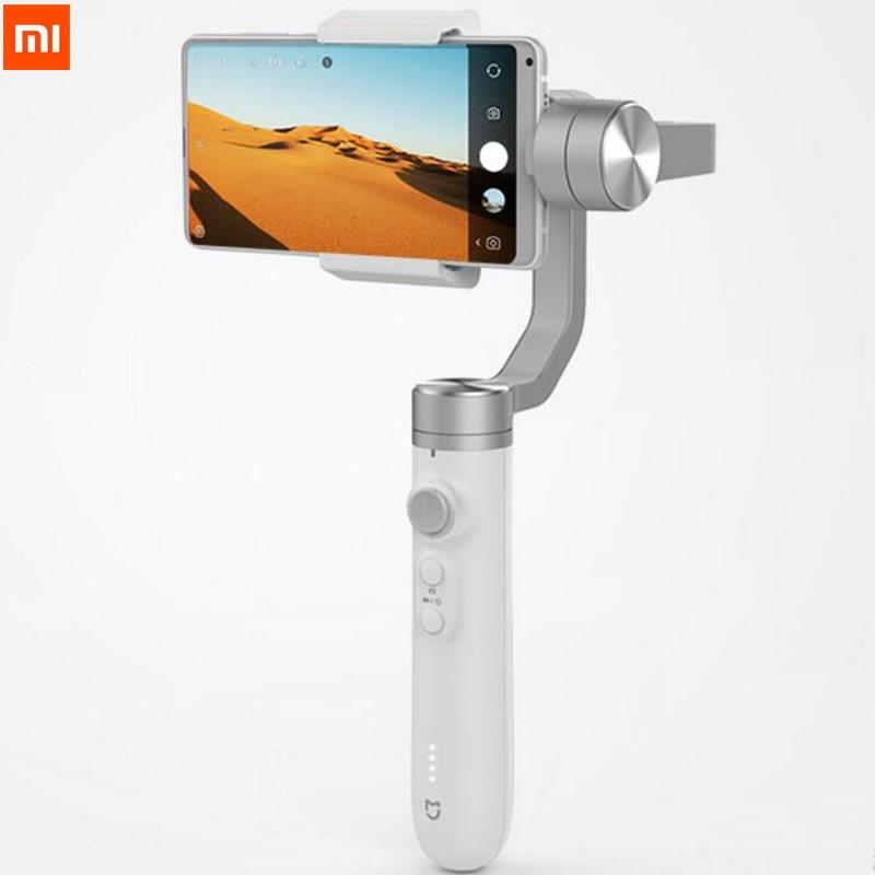 Original Xiaomi 3 Axis Handheld Gimbal Portable Video Bluetooth Stabilizer 5000mAh For iPhone Smart Phone Best