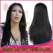 Wholesale Price ! Silky Straight Virgin Human Hair Wigs Glueless Full Lace Wigs With Baby Hair Human Lace Wig Cap