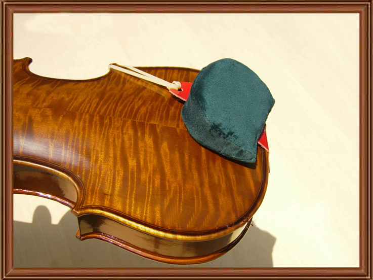 Comfortable Violin Shoulder Rest Pad Chinrest Chin Rest Pad 3 Size You Can Choose for 4/4,3/4,1/2,1/4,1/8,1/10 New