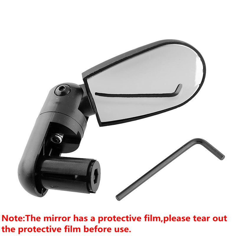 Bike Rearview Mirror Bicycle Accessories Berbasikal Road Mountain Bike Handlebar Wide Angle Lear Rotate View Mirrors for Bicycles