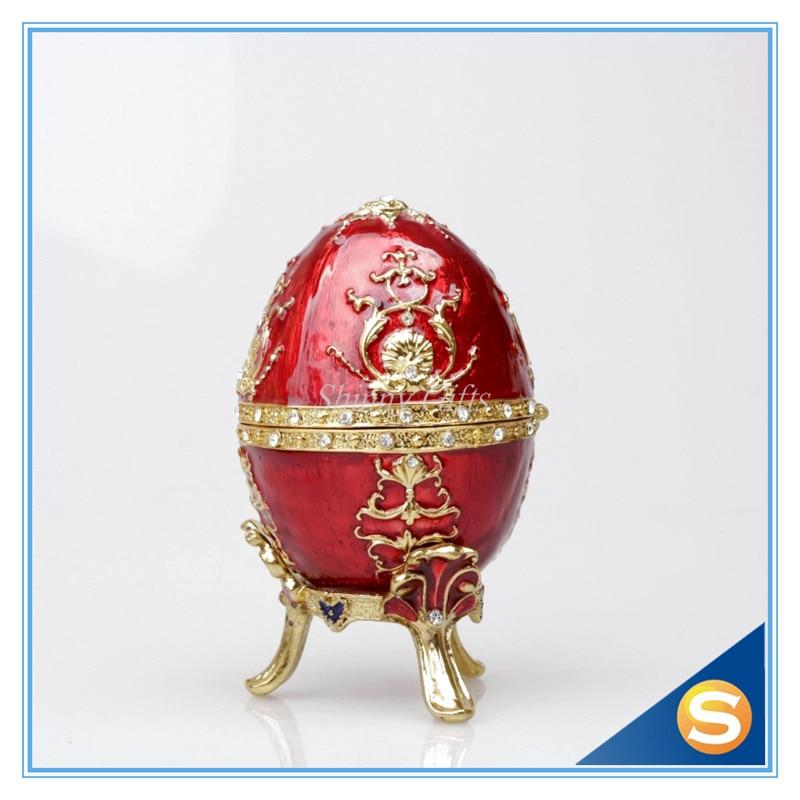 Die Petroika Larissa Metall emaillierte Ei Ostern und Ostern - Wohnkultur - Foto 4