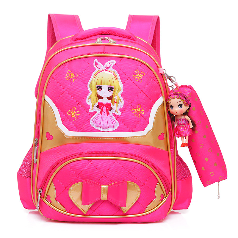 children school bags girls kids orthopedic schoolbags backpacks primary school backpacks children princess backpacks sac enfant