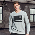 Pioneer Camp 2017 New arrival Spring hoodies men brand clothing fashion pullover sweatshirt men casual male tracksuit AWY702017