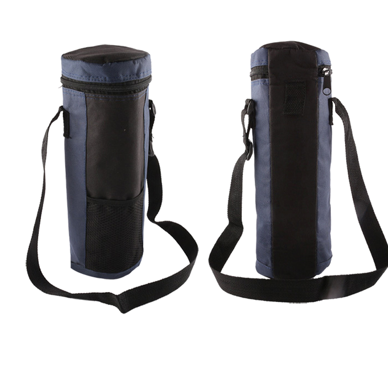 Water Bottle Cooler Tote Bag Insulated Holder Carrier Cover Pouch For Travel ASD88