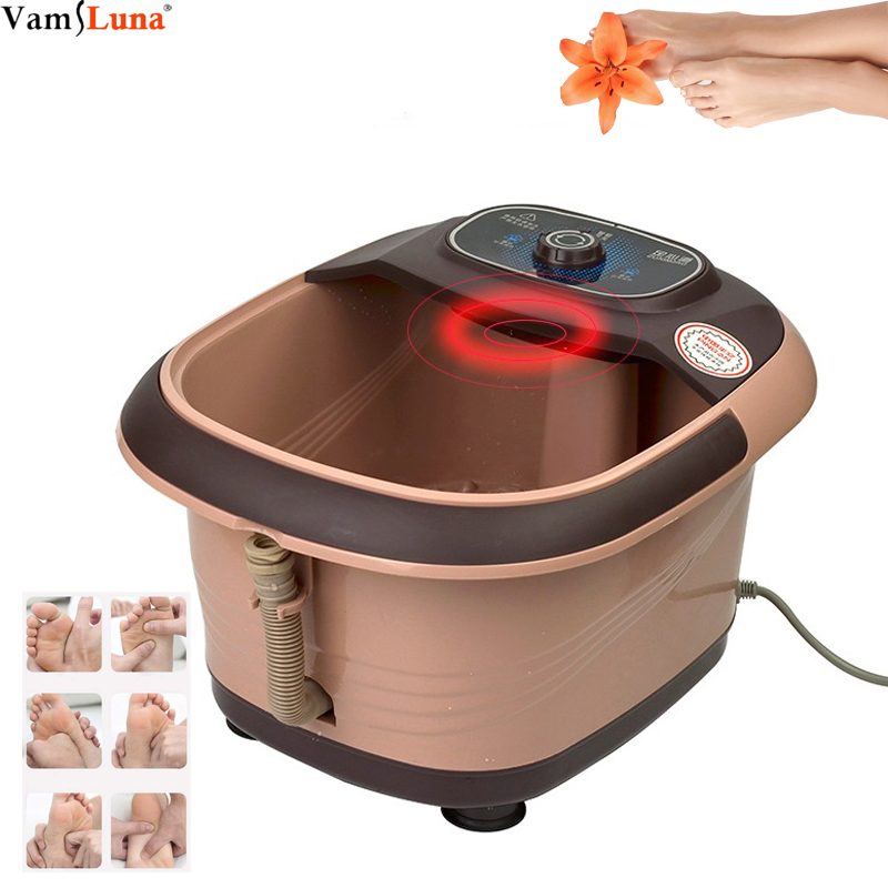 Foot Hot Bucket Wash with Foot, Massage Foot Bath Hydrotherapy Massager, Self-Service Roller Foot Bath, Red Light Heating, HomeFoot Hot Bucket Wash with Foot, Massage Foot Bath Hydrotherapy Massager, Self-Service Roller Foot Bath, Red Light Heating, Home